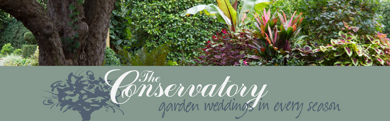 The Conservatory Garden Wedding Venue