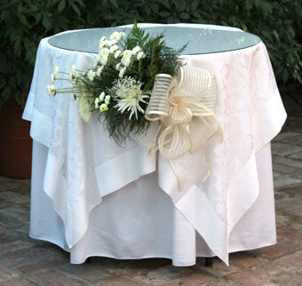 Side Table - The Conservatory Garden Wedding Venue, St. Louis, MO