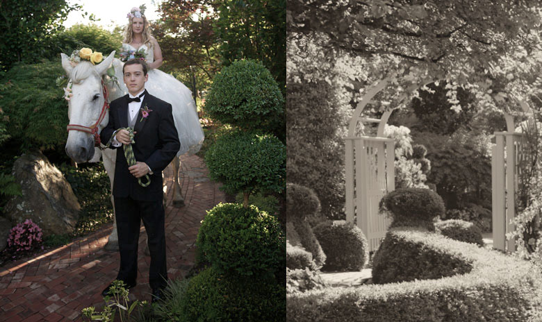 Storybook Wedding - The Conservatory Garden Wedding Venue, St. Louis, MO