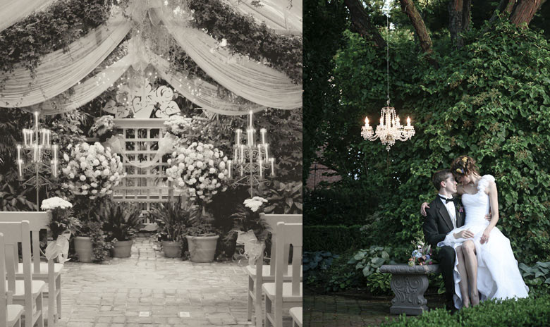 St andrews conservatory wedding