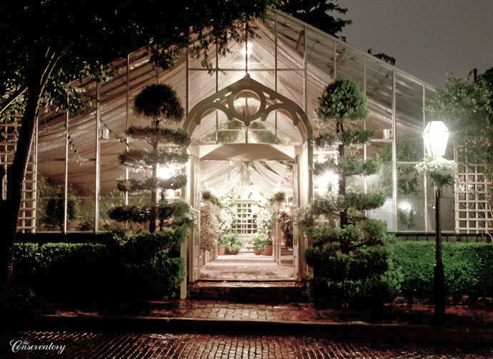 The Conservatory Garden Wedding Venue St Louis Inside