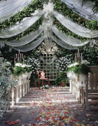 Photos Inside :: The Conservatory Garden Wedding