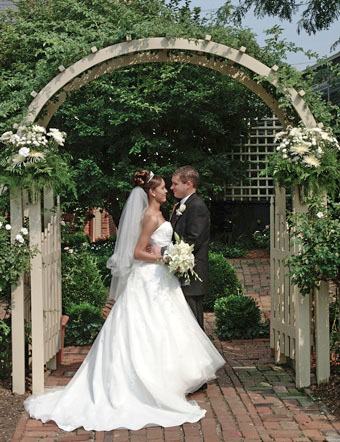 Conservatory Garden Wedding Venue, St. Louis, MO